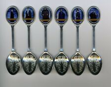 Harry Potter  6 Silver Plated Spoons Featuring Harry Potter
