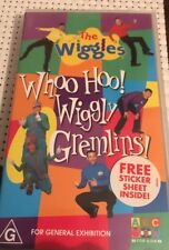 The Wiggles Whoo Goo ! Wiggly Gremlins VHS Tape