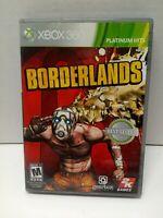 Borderlands (Microsoft Xbox 360, 2009) Complete