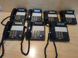 Lot of 7 Panasonic KX-T7433 phones