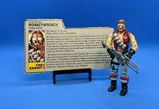 Vintage 1986 G.I. Joe Action Figure - Monkeywrench - With Weapon(s)