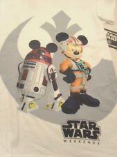 Star Wars T-Shirt M Star Wars Weekend White 2014 NWT Adult