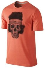 New Nike John Mcenroe Legends Never Die Shirt SMALL S 596210-825 Orange Federer