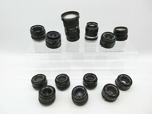Konvolut LOT Canon FD Anschluss Objektive