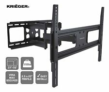 "Lifetime Warranty KRIËGER Full Motion Articulating TV Wall Mount 37-70"" LED LCD"