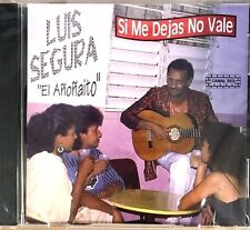 """LUIS SEGURA - """" SI ME DEJAS NO VALE"""" - CD"""