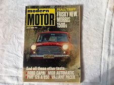 FREE POST!!  Modern Motor July '69 Ford Capri Valiant Pacer test and ad