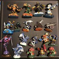 Lot Of 18 Activision Skylanders Figures Swap Force Spyro Adventures Giants