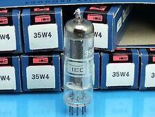 Iec Servicemater 35W4 Vacuum Tube All American 5 Valvola Lampe Röhre Single