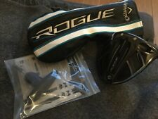 CALLAWAY ROGUE DRIVER 9 STIFF ALDILA SYNERGY SHAFT 1 MONTH OLD HEADCOVER WRENCH