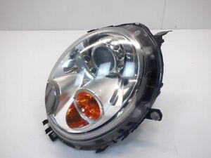 Mini Cooper Left Headlight Bi-Xenon Yellow Indicator 63127270023 07-15 R5x 227