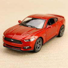 2015 Toffee Ford Mustang GT Sports Car Pull-Back Model Detailed 1:38 Die-Cast