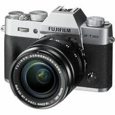 Fuji Fujifilm  X-T20 Silver + XF 18-55mm Lens (UK Stock) BNIB