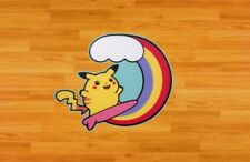 Surfing Pikachu Decal Sticker Color Jdm Euro Illest Vw Honda