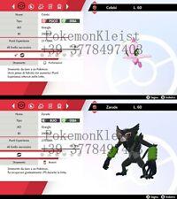Zarude + Celebi del film Pokemon Koko pokemon spada e scudo (sword shield)