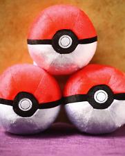 "NEW 20th Anniversary Original TOMY Pokemon Pocket Monster 5"" Plush Poke Ball Toy"