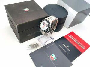 TAG HEUER Watch CAC1110-0 FORMULA 1   Quartz St.Steel Chronograph Date   T3453