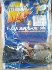 MEGA BIKES MAISTO MODEL DUCATI SUPERSPORT 900 & COLLECTORS FILE INFO ISSUE 17