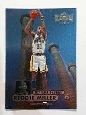 Reggie Miller 97-98 Metal Universe 2 NBA Basketball Card