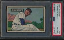 1951 Bowman #69 Johnny Schmitz  PSA 8  NMMT 55995