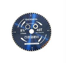 "Circular Saw Blade(210mm)8""-1/4""x40Teeth Timber Plastic Plywood Premium Quality"