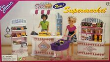 Gloria Barbie Size Dollhouse Furniture Supermarket Play Set