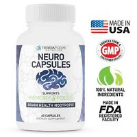 NOOTROPIC – Neuro Capsules, Improve Focus & Clarity Qualia Alpha Brain Adrafinil