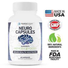 NOOTROPIC – Neuro Capsules, Improve Focus & Clarity Qualia Alpha Brain Adrafinil