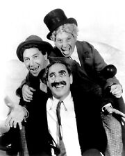 """THE MARX BROTHERS """"A DAY AT THE RACES"""" GROUCHO HARPO CHICO - 8X10 PHOTO (MW039)"""