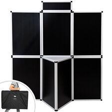 Panneaux  d'exposition affichage stand Panneau de Promotion mur cloison noir