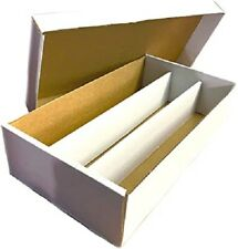 3000 Count Super Shoe Box 3-Row Sports Gaming Trading Card Storage Box Brand New