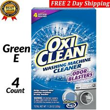 Oxiclean Washing Machine Cleaner 4 Count with Odor Blasters FREE 2 Day Shipping