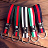 Fashion Leather Metal Car Keychain Keyring Purse Bag Key Chain Ring Keyfob