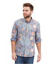 Polyester Floral Regular Collar Casual Shirts & Tops for Men