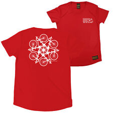 FB Cycling Ladies Tee - Kaleidoscope - Round Neck Dry Fit Performance T-Shirt