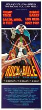 Rock And Rule 14inx36in Insert Movie Poster Replica