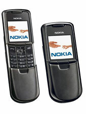 Nokia 8800 Carbon Arte Titanium Bluetooth Slip Symbian Cell Phone T-Mobile Black