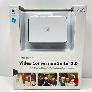 Honestech VIDBOX Video Conversion Suite 2.0 MAC/PC Analog to Digital - New