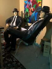Blues Brothers Life Size Statues-Jake and Elwood in perfect details & condition.