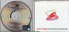 PATTY PRAVO CD single UNA DONNA DA SOGNARE  2000  2 tracce VASCO ROSSI
