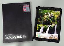 Samsung Galaxy Tab S3 32GB, WLAN + 4G LTE, 9,7 Zoll, SM-T825, Schwarz
