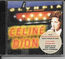 CD LIVE 13 TITRES--CELINE DION--LIVE A L'OLYMPIA 1994