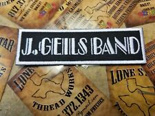 J. Geils Band patch