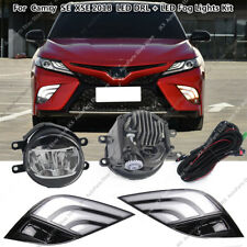 LED DRL Turn Signal Lamps Fog Lights Kit Assy For Toyota Camry 2018 2019 SE XSE