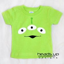 Toy Story Alien Shirt Boy Girl Baby Newborn Bodysuit Kid Adult Costume