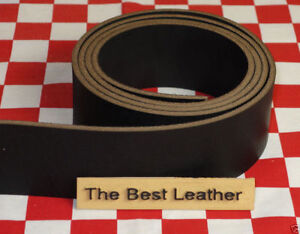 BLACK CHROMEXCEL HORWEEN LEATHER STRAPS, VARIOUS SIZES AVAILABLE, SELECT YOURS.