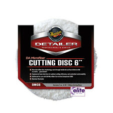 "Meguiar's DA Microfibre Cutting Disc 6"" - Pack of Two - Effective Defect Removal"