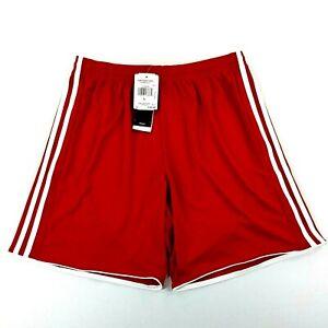 Adidas Mens Tastigo17 Shorts Climacool Red Size Large