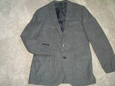 New J crew MenLudlow sportcoat Jacket harvest herringbone English wool 40R Gray