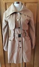 NWT Suzabelle Trench Style Jacket Short Coat Choice Of  Taupe XS Or Black XS- S